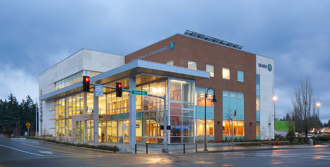 High Performance: East County Courthouse - Interface