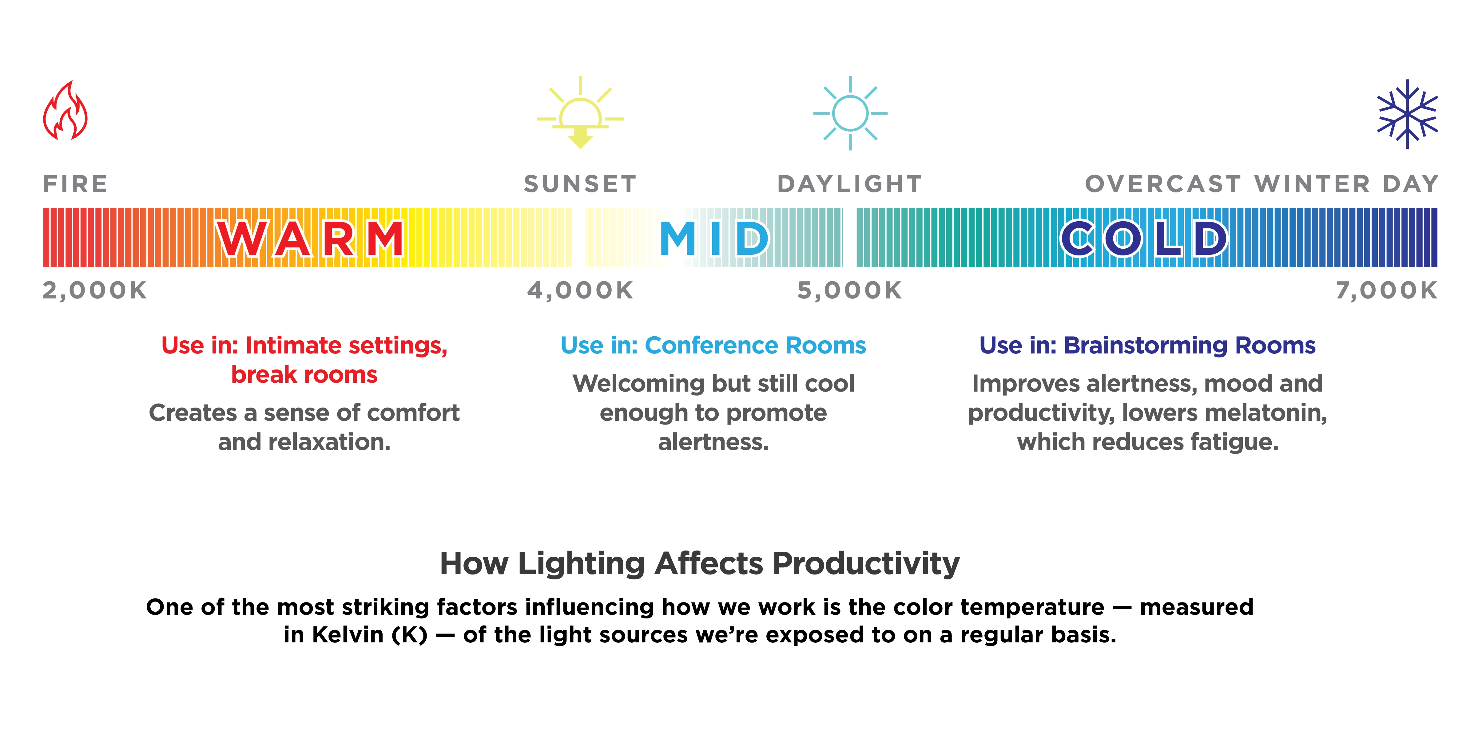 How Lighting Affects Productivity