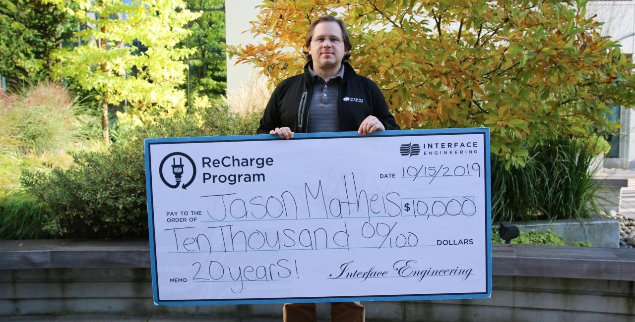 Jason Matheis recharge