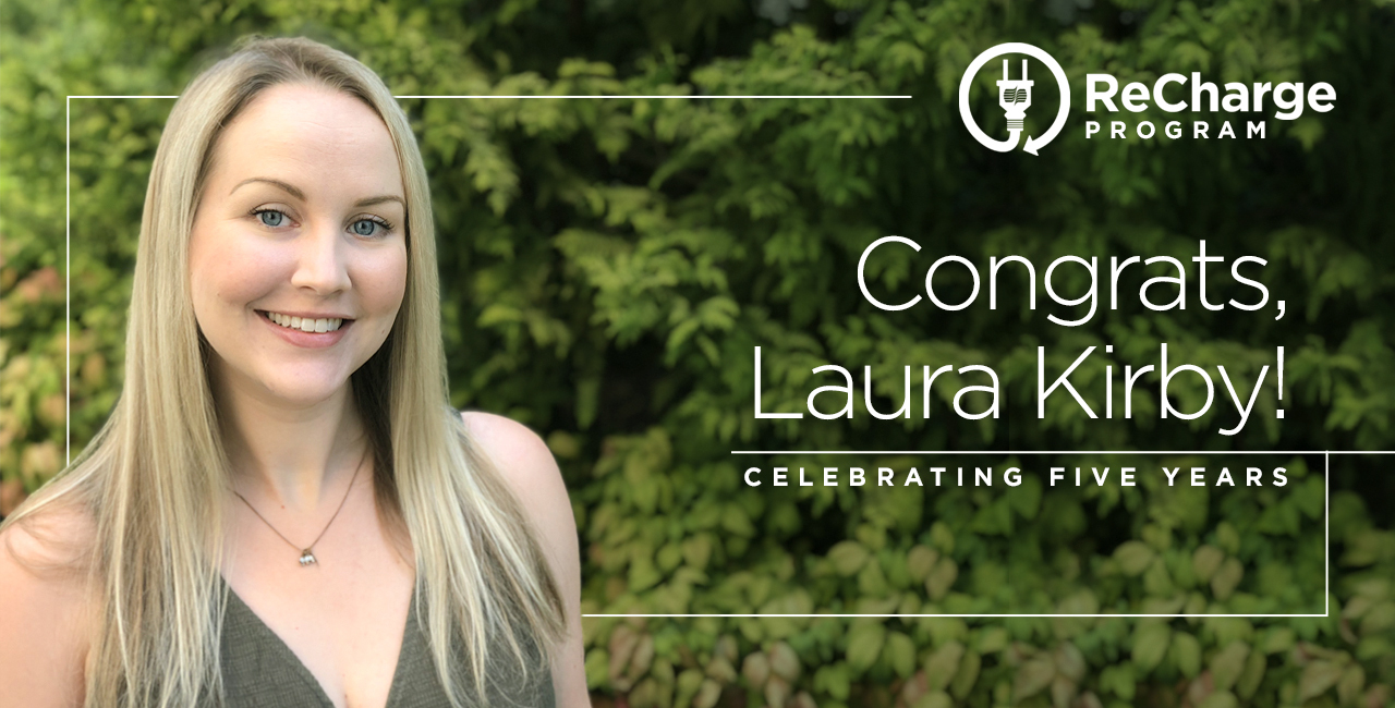 Laura Kirby 5 yr Re Charge