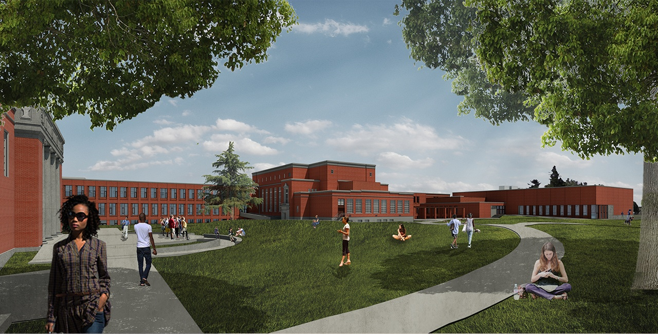 Grant High School Modernization Interface Engineering
