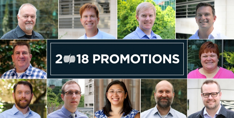 2018 Staff Promotions 1280X650