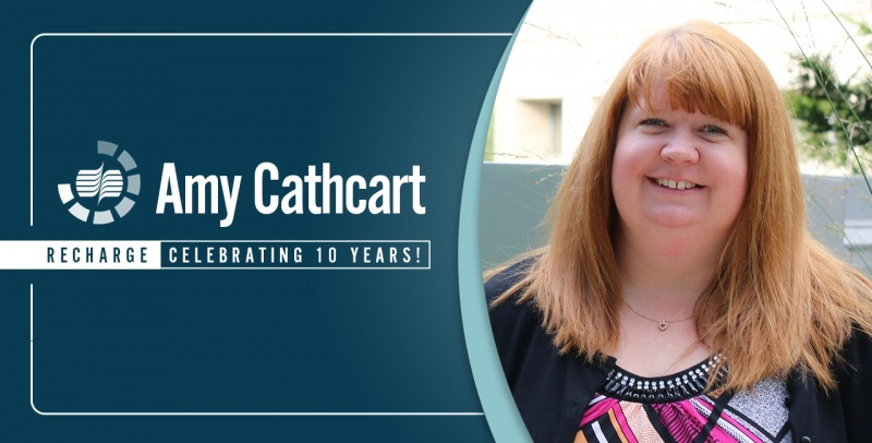 Amy Cathcart 10 Yr Re Charge