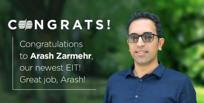 Arash Zarmehr EIT promo
