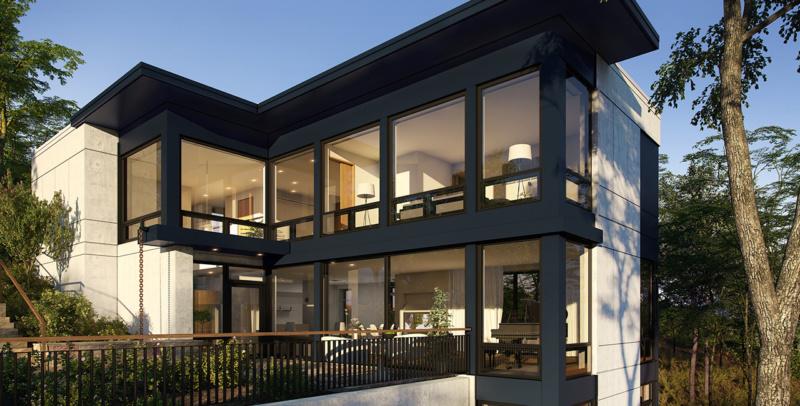 Arlington Zero Energy House Exterior 1280x650