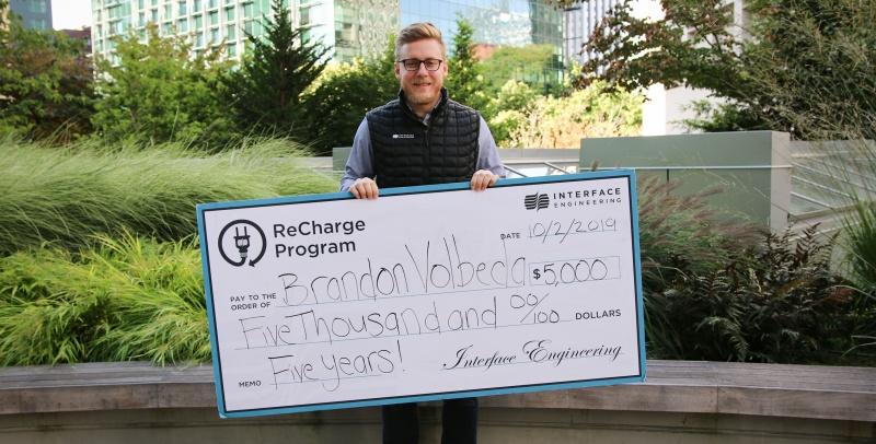 Brandon Volbeda 5 yr Re Charge Promo