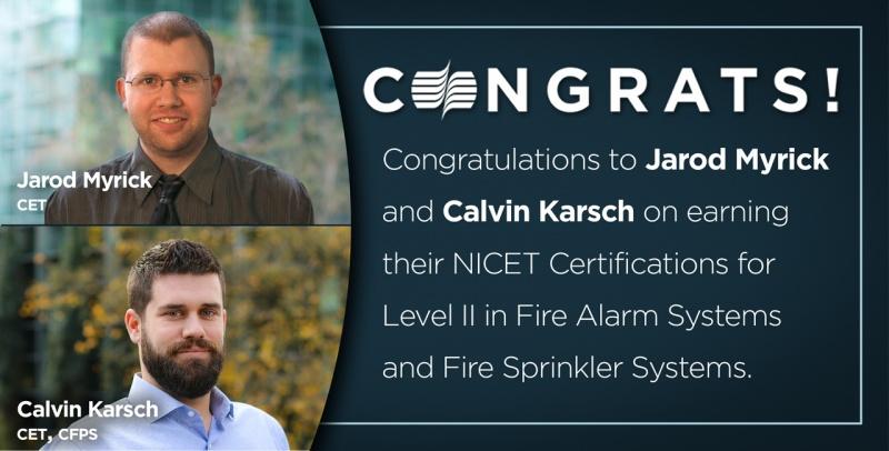 Calvin Jarod Certification Social Promo