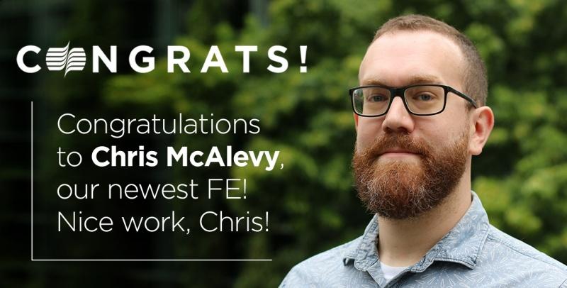 Chris Mc Alevy FE announcement 1280x650