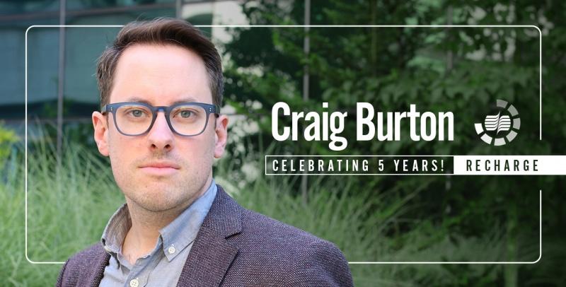 Craig Burton 5 Yr Re Charge