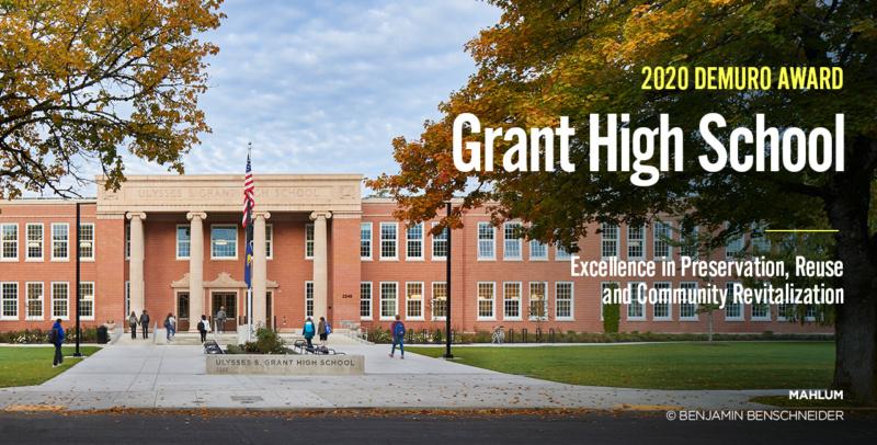 Grant HS 2020 De Muro Award 1280x650