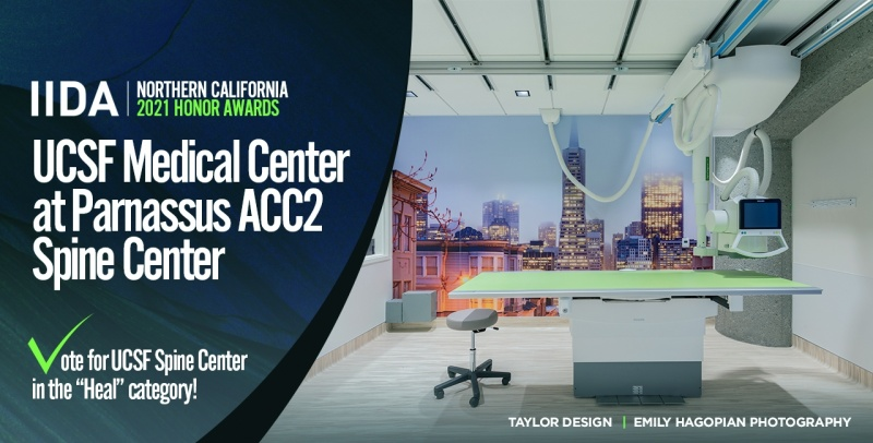 IIDA Vote for UCSF Spine Center 1280x650
