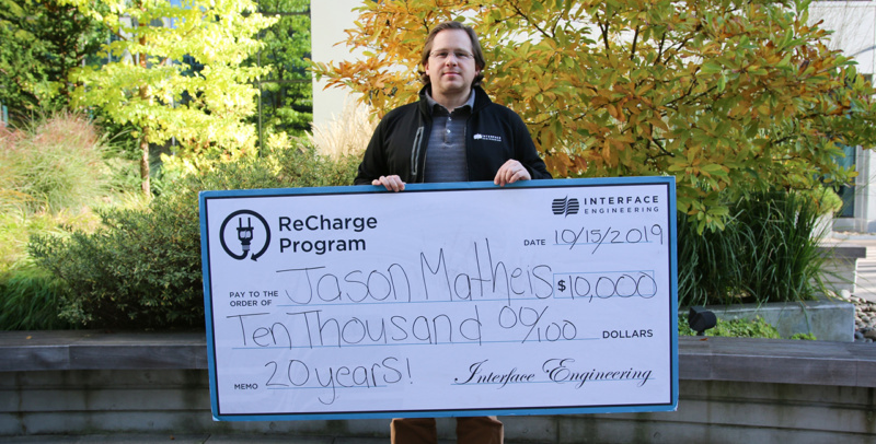 Jason Matheis recharge