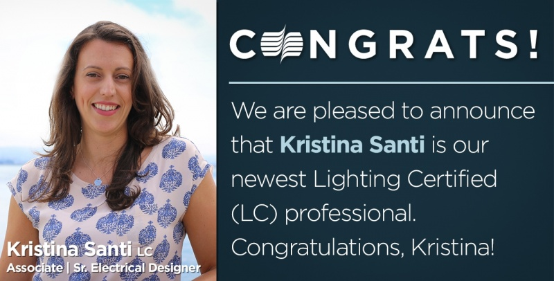 Kristina Santi Lighting Certified Social Promo