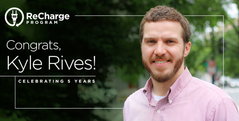 Kyle Rives 5 Year Recharge