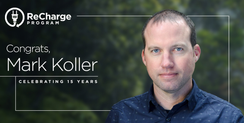 Mark Koller 15 year Re Charge