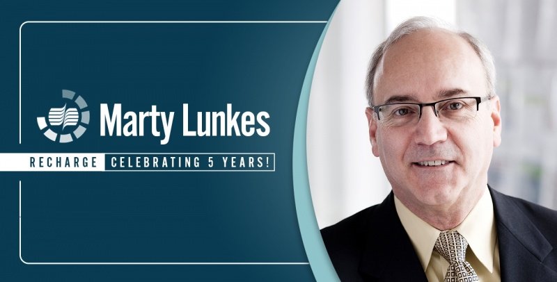 Marty Lunkes 5 Year Re Charge