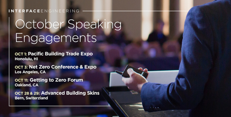 October Speaking Engagments