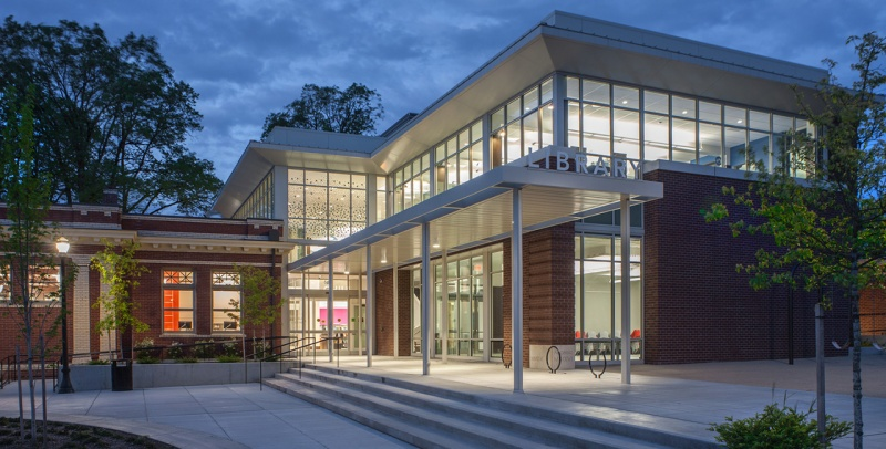 Oregon City Carnegie Library1280X650