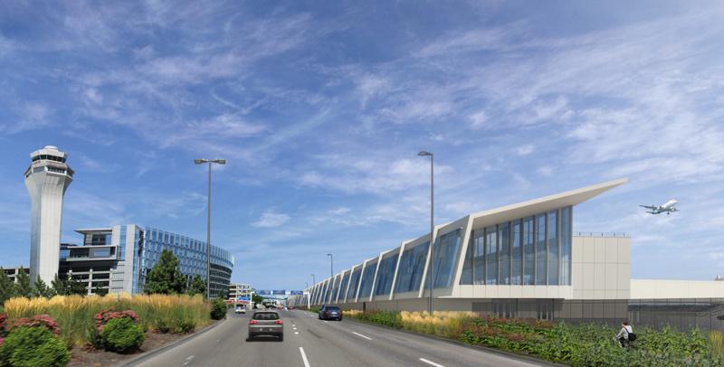 Port of Portland Airport Terminal Balancing Exterior 1280x650