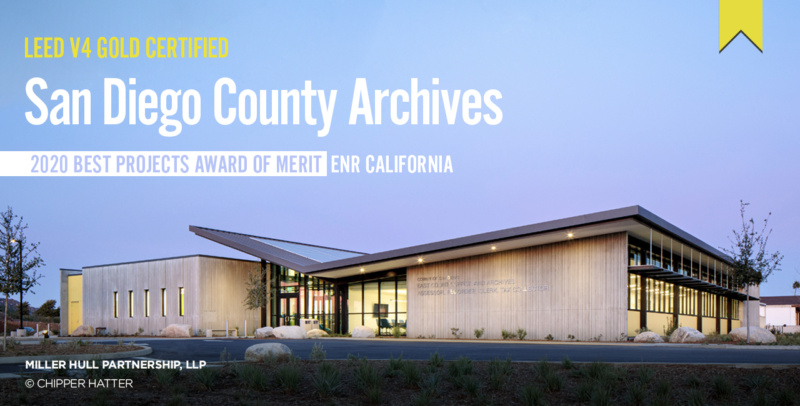 San Diego County Archives ENR California Award of Merit 1280x650