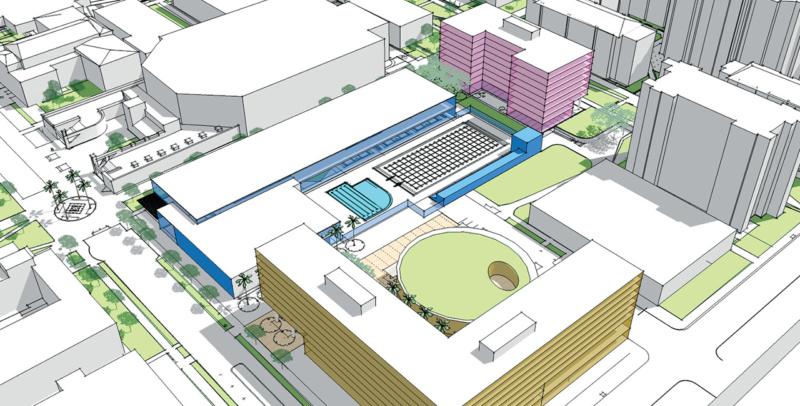 San Jose State University SE Quadrant Conceptual Design Exterior 1280x650