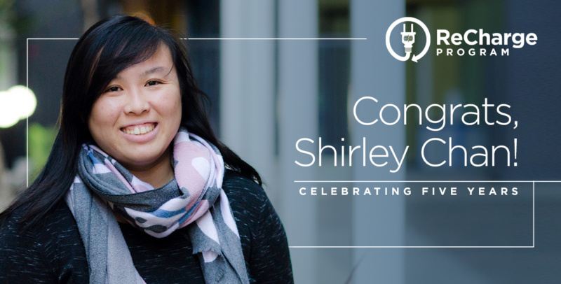 Shirley Chan 5 yr Re Charge