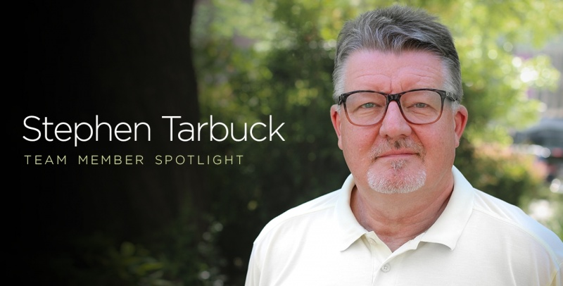 Stephen Tarbuck Team Member Spotlight 1280 x 650