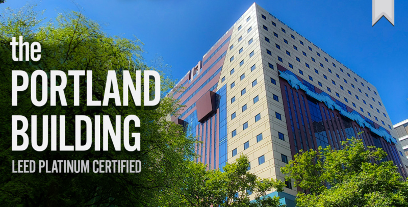 The Portland Building LEED Platinum promo 1280x650