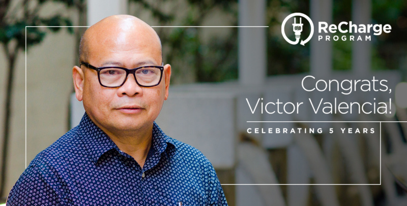 Victor Valencia 5 Year Recharge