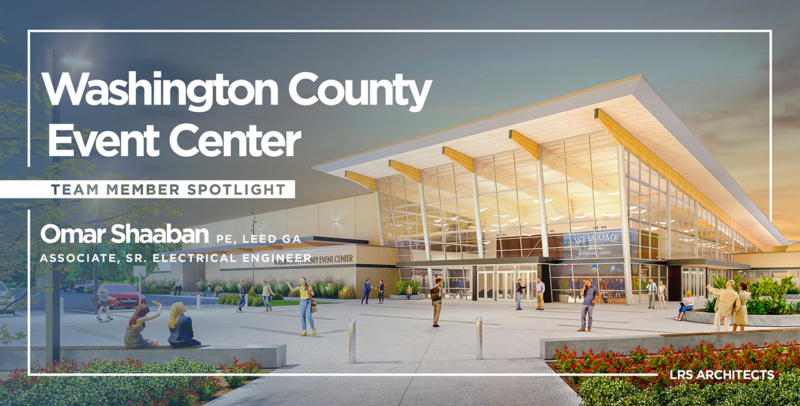 Washington County Events Center Team Spotlight Omar Shaaban