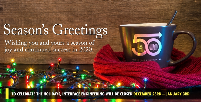 2019 holiday closure banner for web