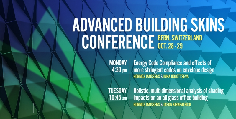 Advanced Building Skins Conference Promo