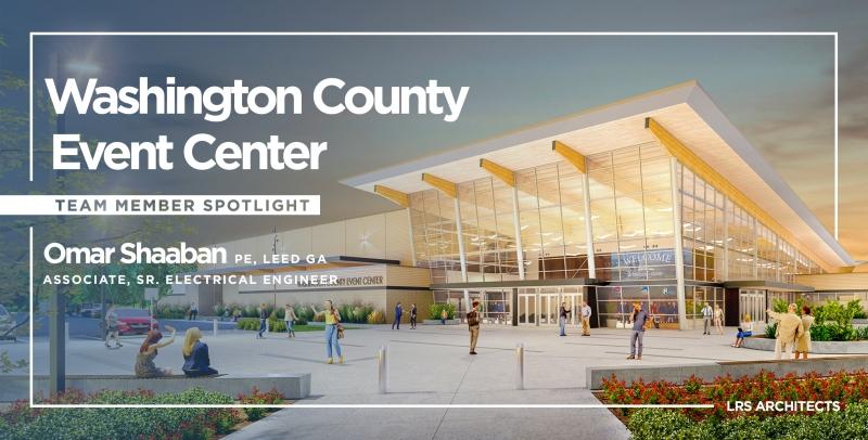 Washington County Events Center Team Spotlight Omar Shaaban